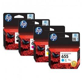 Kartuša, HP 655 | komplet kartuš | HP 3525