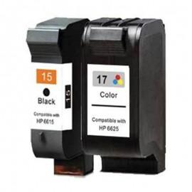 HP 15 + HP 17 | komplet 2 x kartuša