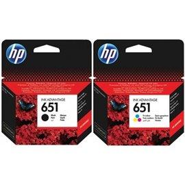 HP 651 komplet kartuš | HP DeskJet Ink Advantage 5575